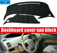 for toyota previa 50 20062019 xr50 estima tarago dashboard cover pad sun protection pad uv protection mat left right hand drive