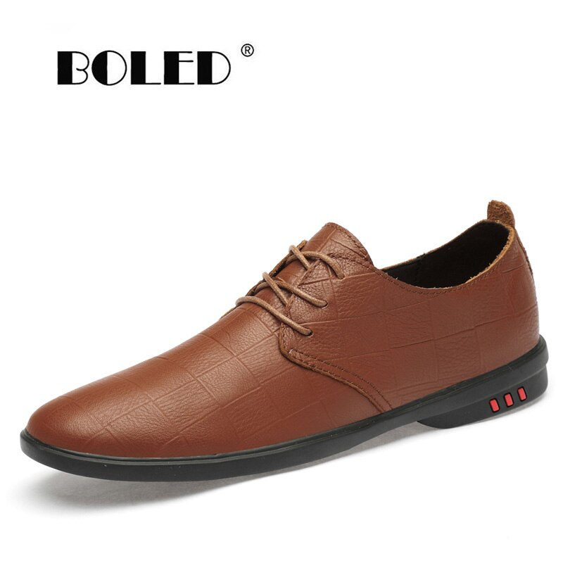 Genuine Leather Men Casual Shoes Designer Flats shoes Moccasins Soft Breathable Loafers Outdoor Driving