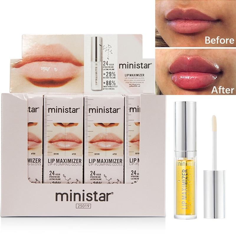 Huile volumisante instantanée pour les lèvres, 5ml, gingembre, menthe, hydratation, amélioration, réparation des lèvres, réduction des ridules, éclaircissement, couleur, huile charnue