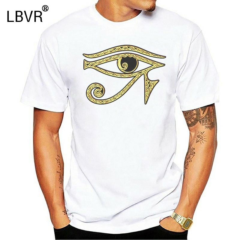 Camiseta Ojo de Horus, camiseta con ojos que todos ven, camiseta Illuminati Freemasons Gold, nueva camiseta femenina masculina