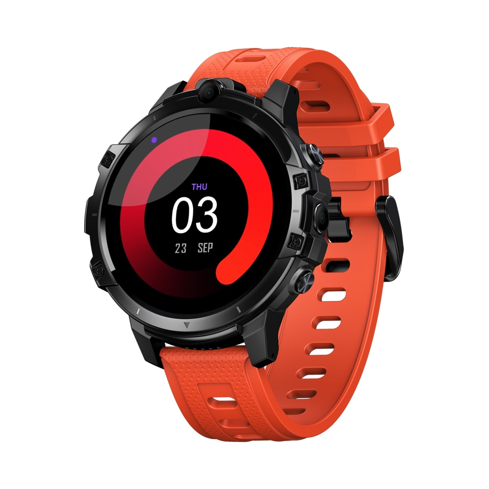 ZEBLAZE Thor 6 Smart Watch Android10 1.6'' Octa-Core 64GB 4G WIFI Smartwatch Phone Call Dual 5MP Cameras смарт часы For Amazfit