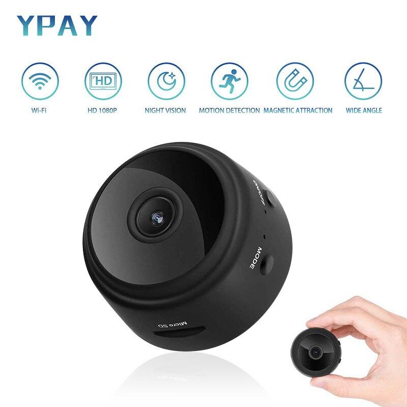 A9 Wifi IP Full HD 1080P Mini Camera Espion Night Vision Secret Camera Motion Detection Mini DVR Camera Support TF Card