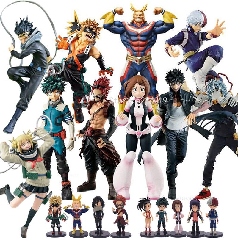 21 Styles My Hero Academia Anime Figure All Might Azawa Shouta Dabi Shigaraki Tomura Boku no Hero Academia Action Figure Toys