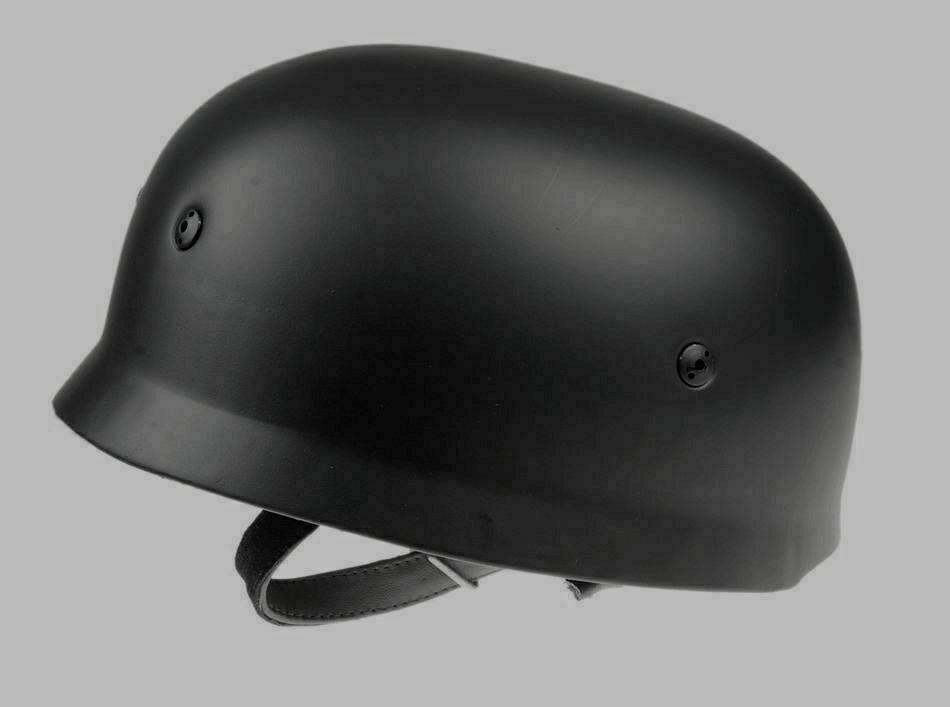 WW2 WWII German Elite Fallschirmjager M38 Helmet Black Colour