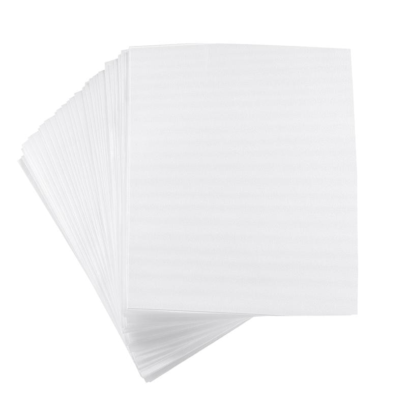 100Pcs Cushion Foam Poches Thickened Wrap Pouches for Protecting Dishes Glasses Cups Mugs Plates and Fragile Items
