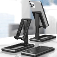 ultra thin desktop phone holder telescopic folding adjustable lazy portable tablet universal bracket universal cell phone stand