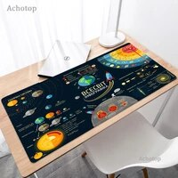 universe space solar system planet computer mouse pad xxl large 900x400mm gaming accessories mousepad rubber mat for pc laptop