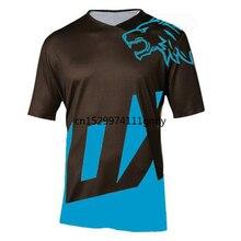 2020 Enduro camisetas bicicleta motocross bmx camiseta de competición cuesta abajo dh de manga corta ropa de ciclismo mx BTT en verano camiseta