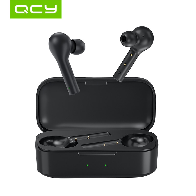 QCY T5 Bluetooth 5.0 Wireless Earphones Sport Running Headphones Touch Control & Comfortable Wearing With Dual Mic