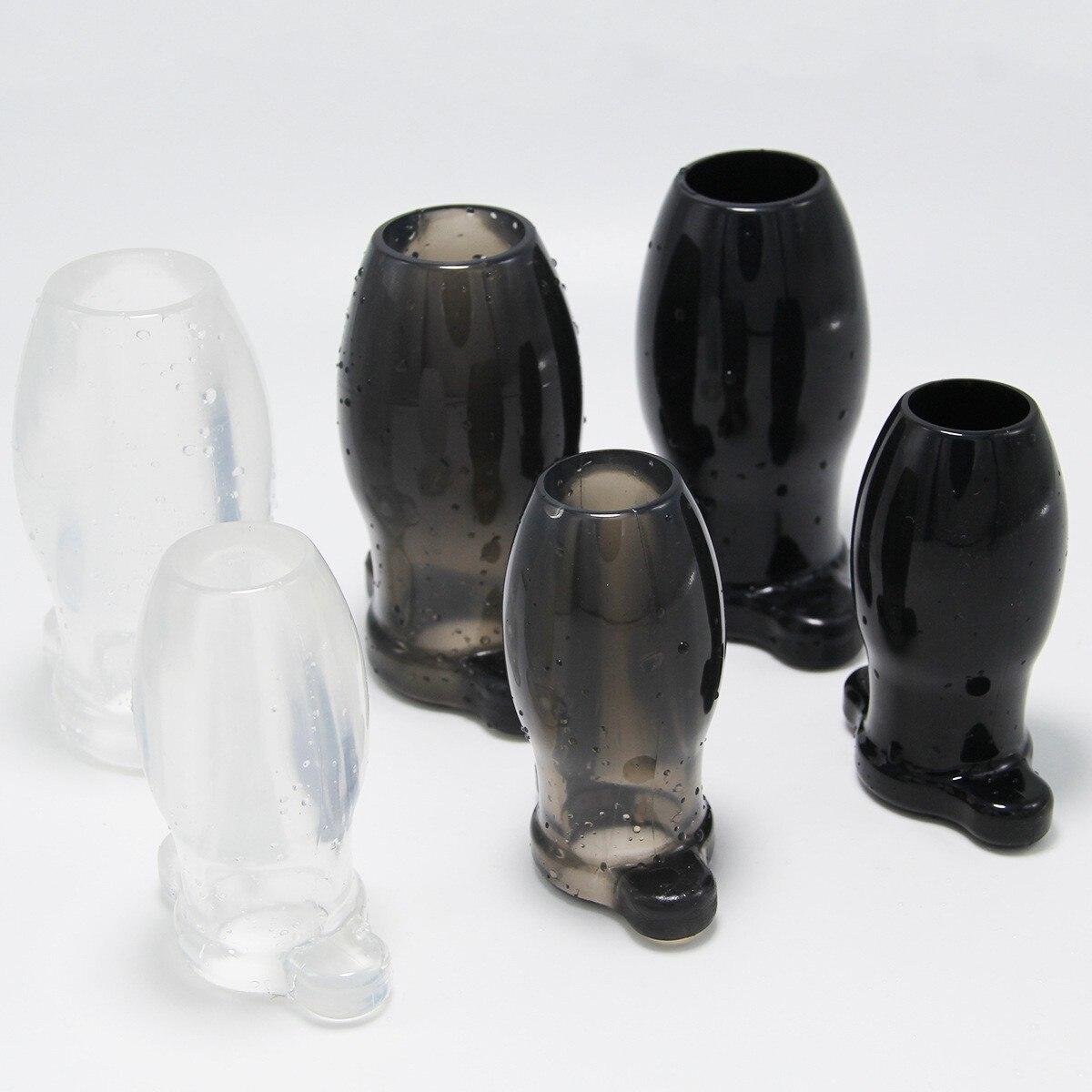 ¡3 colores hueco Enemator idiota Plug Anal Vagina Anal limpiador Anal dilatador Peep Buttplugs espéculo juguetes sexuales adultos para parejas!