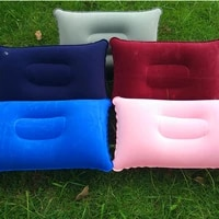 portable fold outdoor travel sleep pillow camping tent inflatable pillow airplane hotel rest comfortable sleep pillows