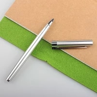 high quality 126 series fountain pen stainless steel extra fine tip ink pens office business school writing calligraphy a6118