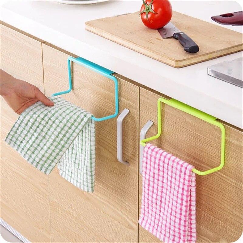 Кухонный органайзер, вешалка для полотенец, подвесной держатель, вешалка для шкафа в ванной комнате, вешалка для шкафа, полка, органайзер дл...