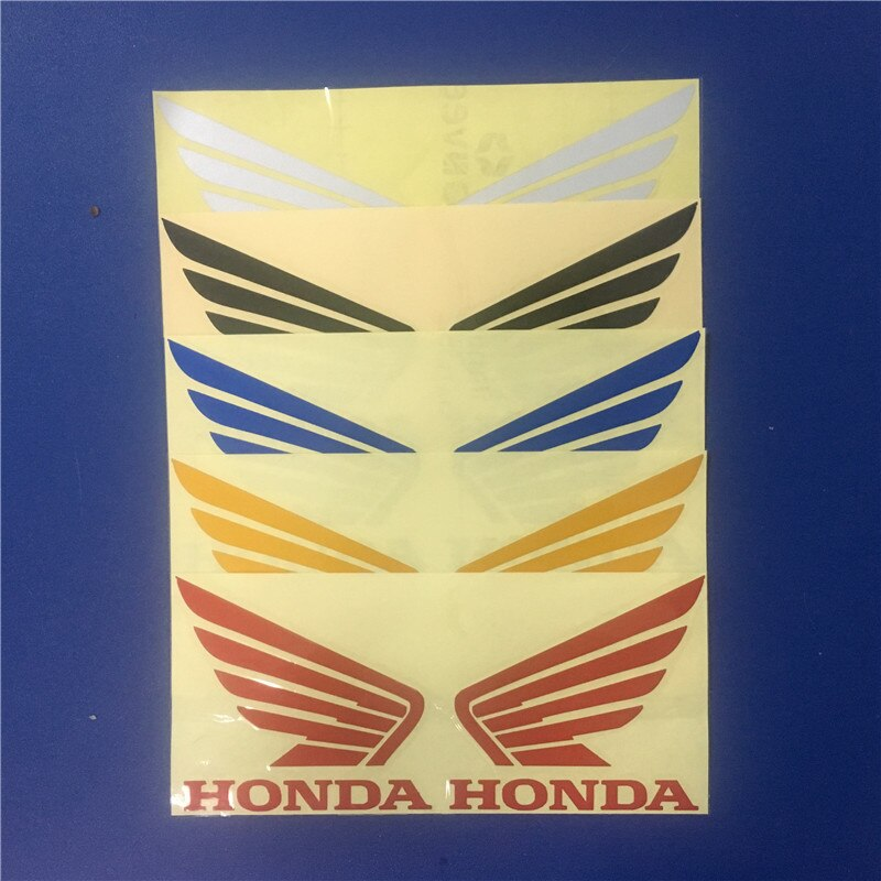 reflective stickers moto decal parts motorbike decorations for honda CBT CBR cb500x cb650f msx125 sticker motorcycle accessories