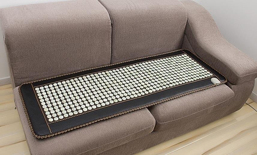 اليشم وسادة أريكة وسادة أريكة ms tomalin الجرمانيوم حجر التدفئة الكهربائية الحرارية وسادة سوداء أريكة جلدية وسادة أريكة الرعاية