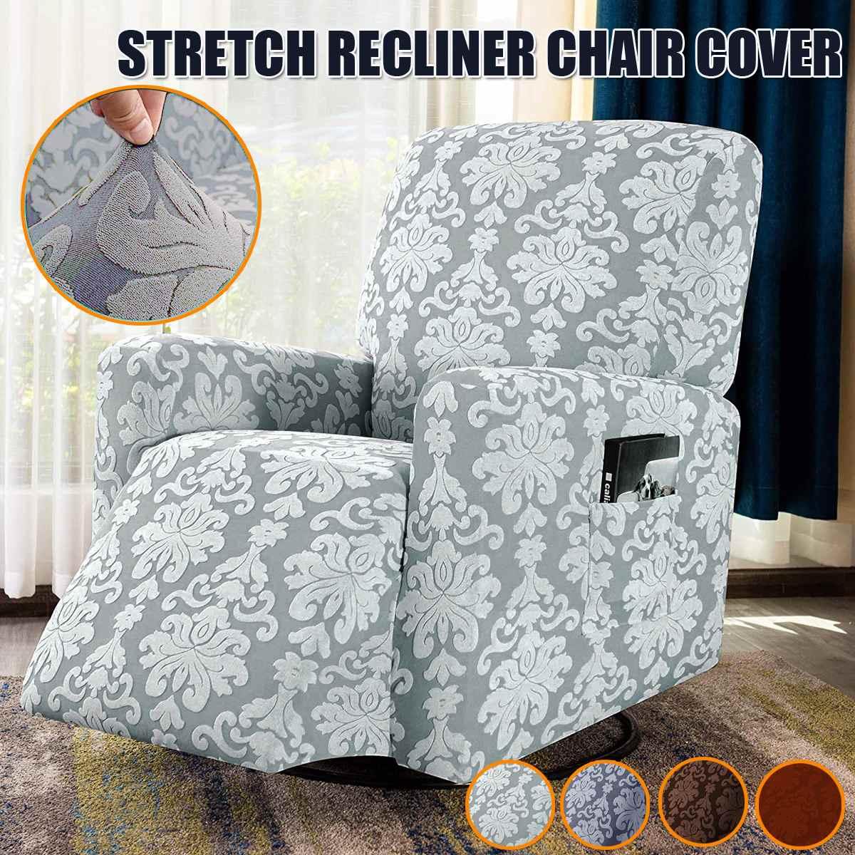 غطاء أريكة مرن قابل للتمدد ، غطاء أريكة لغرفة المعيشة ، حماية للحيوانات الأليفة ، كرسي استلقاء