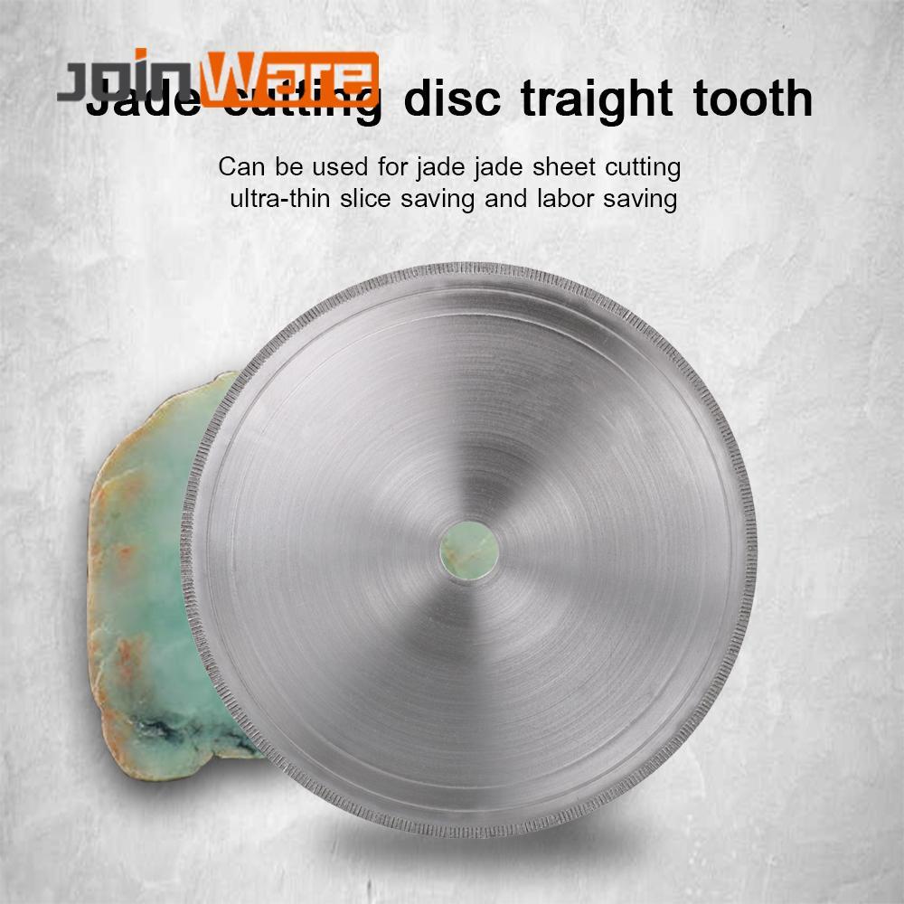 "6/7/8/10/12/14"" Ultra-thin Diamond Circular Saw Blade Cutting Arbor Disc Cut Jade Discs for Agate Gems Stone Slits 1Pc"