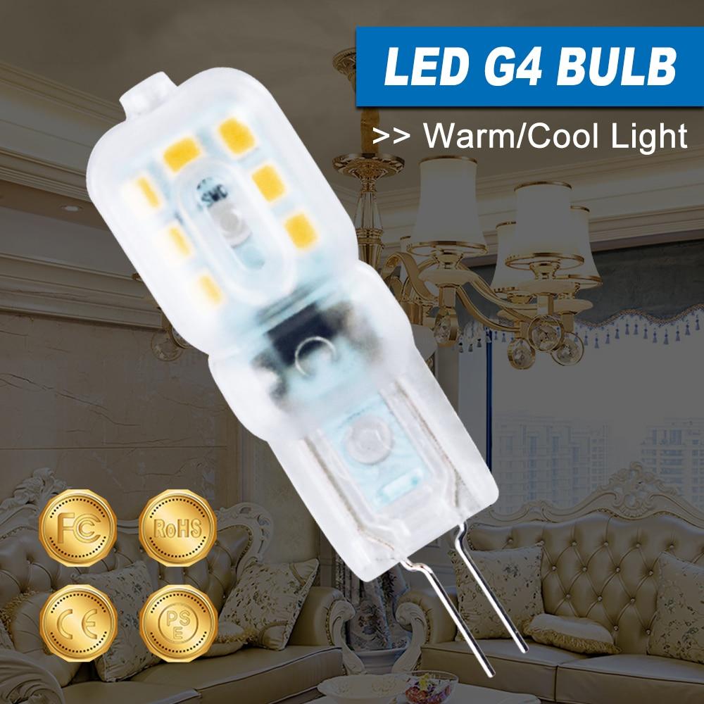 220V LED Corn Light G4 Candle Bulb G9 Chandelier Lamp 3W 5W LED Replace Halogen Light 2835 SMD Bombilla Energy Saving Lighting