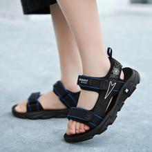 2021 Summer New Style PU Soft Sole Children's Shoes Sandals Leisure Sports Fashion Children's Beach