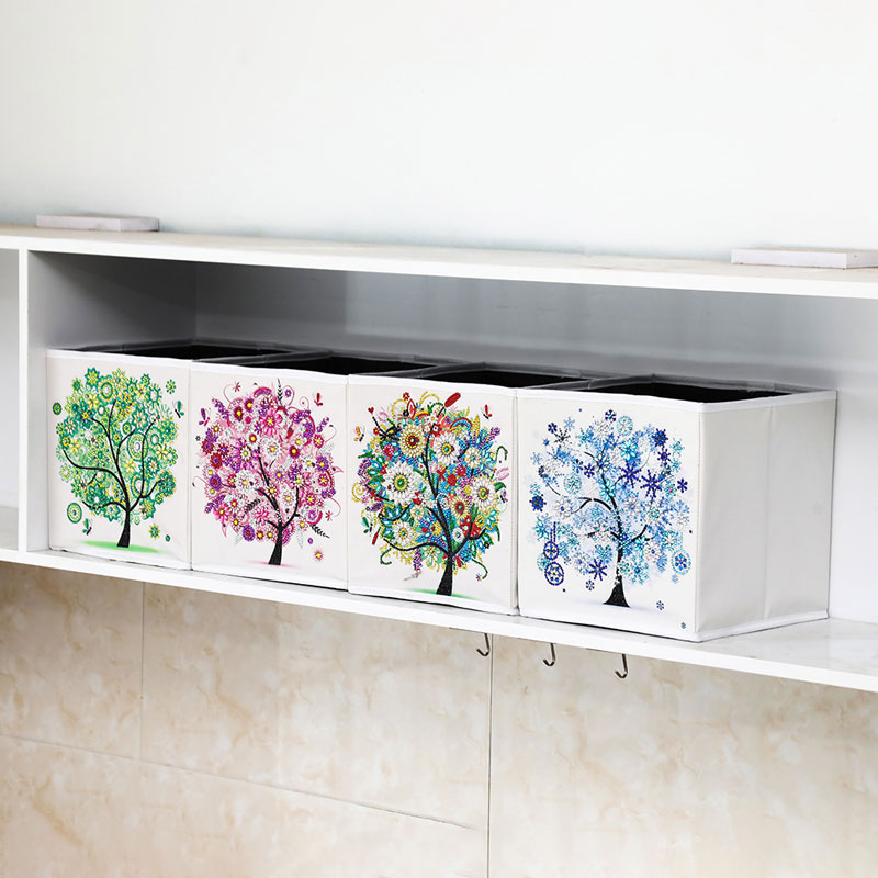 DIY Diamond Painting storage box Special Shaped Diamond Mosaic  Household items For Bedroom Cross Stitch Embroidery Diamond Art
