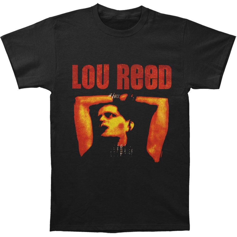 Camisa do animal do rolo do rock nnroll do homem de lou reed