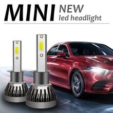 High brightness LED 6000K H4 H7 H1 COB Car LED Headlight Bulbs C6 S2 9V to 36V 9005 9006 HB3 9012 HB4 36W 6000LM MINI1 lamp