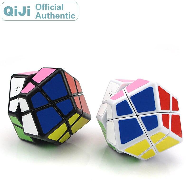QiJi Stone Megaminxeds Cubo mágico QJ Cubo mágico profesional Neo Speed Cube Puzzle juguetes anti estrés para niños