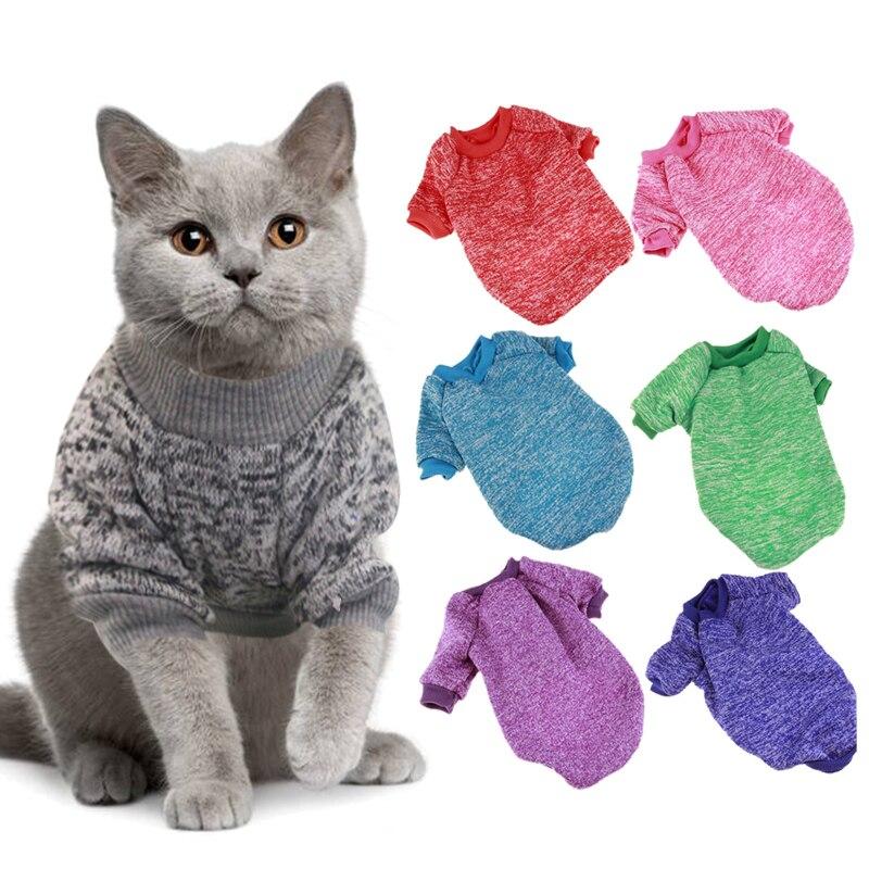 Suministros para mascotas, ropa para mascotas, ropa de abrigo de invierno para gatos, ropa de moda, abrigo, ropa para perros Chihuahua, ropa de conejo con animales para primavera