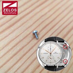 IW3712 watch case back screw for IWC Portugieser 41mm automatic watch IW3716