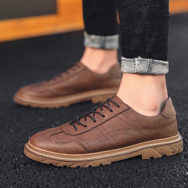 Los zapatos de los hombres vestido Retro de diseño clásico Formal zapatos...