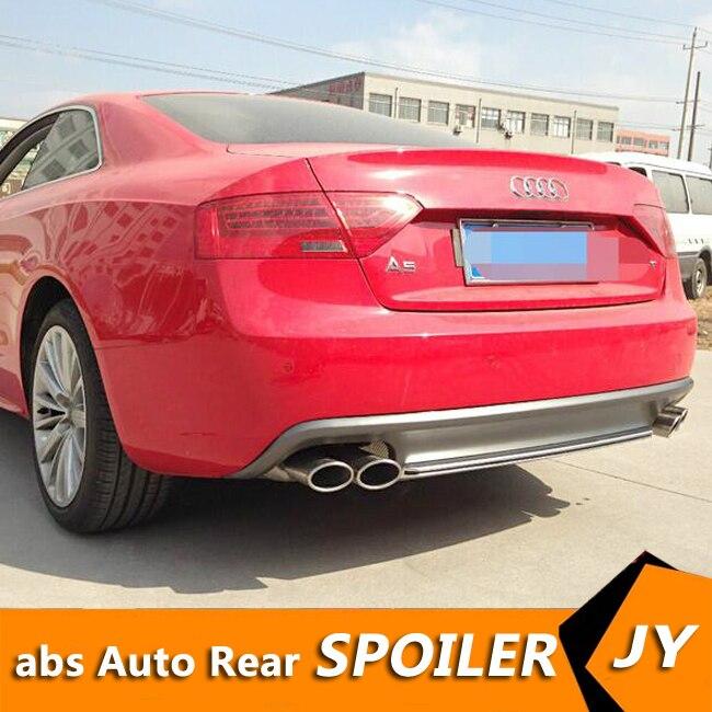 Para Audi A5 S5 kit de carrocería alerón 2012-2016 para Audi A5 PT ABS alerón trasero borde difusor de parachoques delantero parachoques Protector