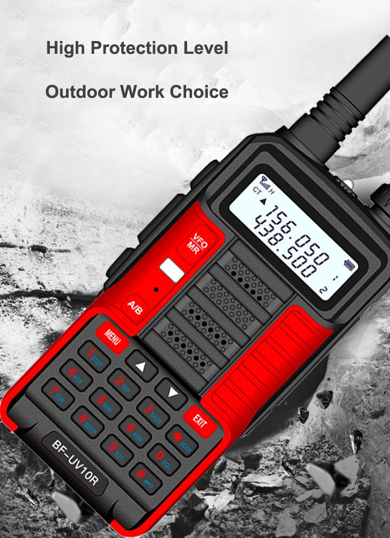 Baufeng 2021 Baofeng Uv 10R Plus Mountain Village walkie talkie 50km Better Than UV 9R plus frequency Two Way Radio comunicador enlarge