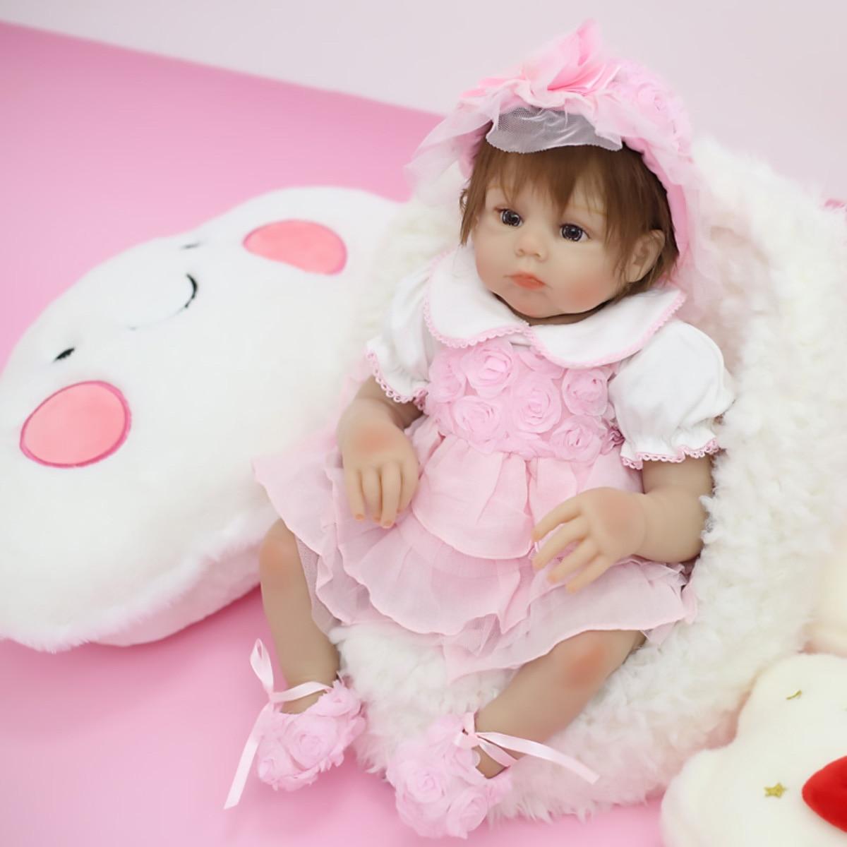 دمية أطفال مولودة من جديد فتاة 20