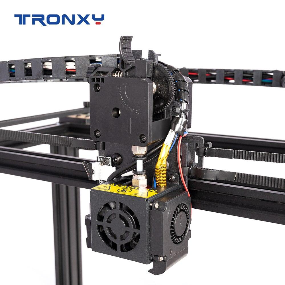 Tronxy X5SA مع السيارات مستوي الطارد المباشر تحديث عدة طباعة مواد مرنة بولي يوريثان الصامت دليل السكك الحديدية بكرة ثلاثية الأبعاد أجزاء الطابعة