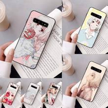 Yinuoda JUUZOU SUZUYA noir Étui de Téléphone Coque Pour Samsung Galaxy A50 A30 A71 A40 S10E A60 A50s A30s Note 8 9 S10 Plus S10 S20 S8