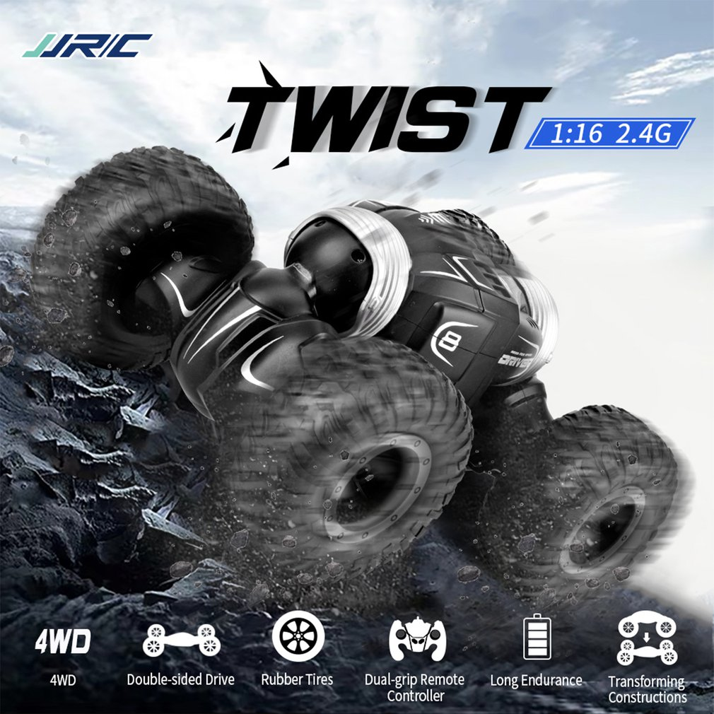JJRC Q70 RC Car Buggy 2.4GHz 4WD High Speed Remote Control Car Stunt Radio Control Car Model Toys Controlled Machine Boys Toys