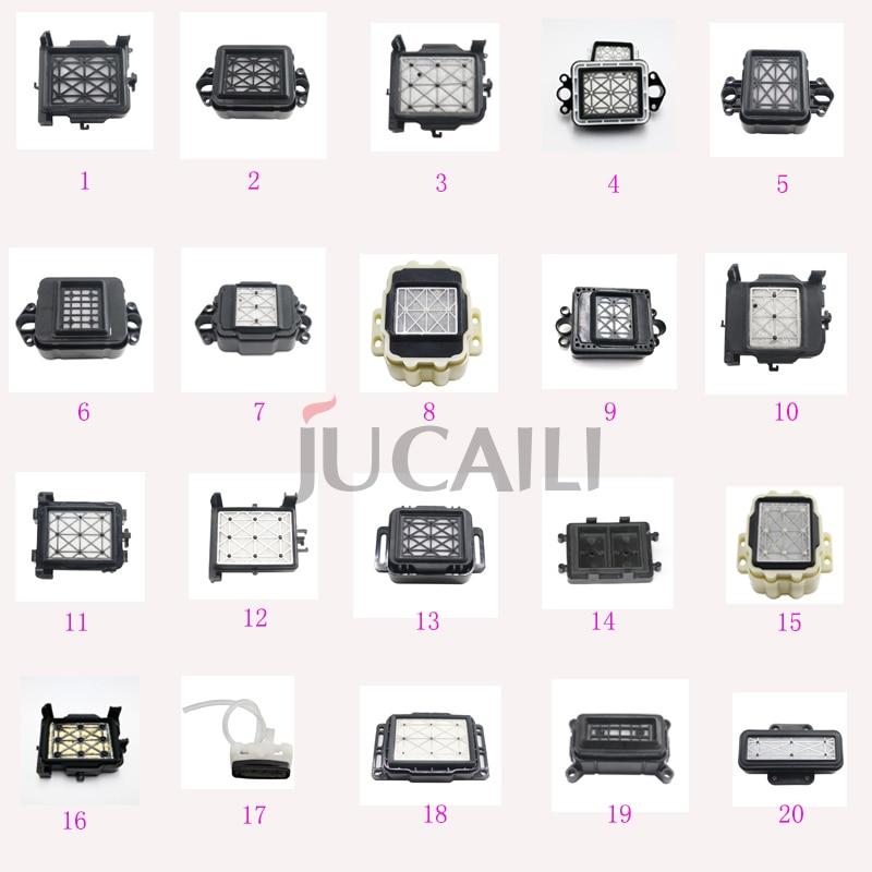 Jucaili 2 piezas varias tapas para Epson xp600/dx4/dx5/dx7/5113/jv33/Estación de tapa con tapa de cabeza de impresión Ricoh GEN5