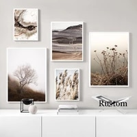 posters on the wall nordic decoration home landscape picture for wall loft canvas art painting for interior room decor frameless