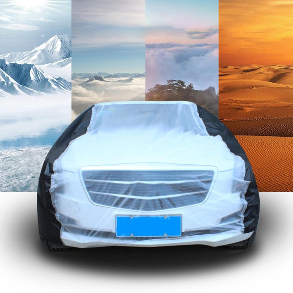 Car Cover Car Cover Universal Rain And Dustproof Sunscreen Car With Thick Peva Car Clothing Car Clothing