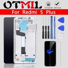 "XIAOMI Redmi 5 Plus LCD 디스플레이 터치 스크린 용 기존 5.99 ""Redmi 5 Plus 용 프레임 배터리 커버 디지타이저 Replacemt"