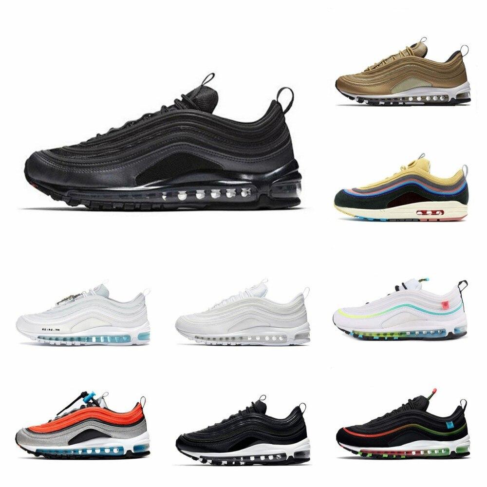 Chaussures de course respirantes pour hommes et femmes, baskets de Sport de plein air, trois couleurs noir, blanc, Sean, jésus, aurore, vert, nouvelle collection