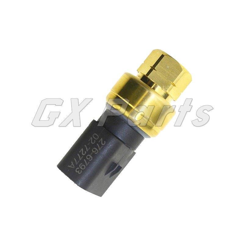 Interruptor de presión de aceite 2766793, Sensor de presión 276-6793 276 6793 para camión oruga 773F 775F 777C 777D 777F, C-9 de motor C13 C7 C9
