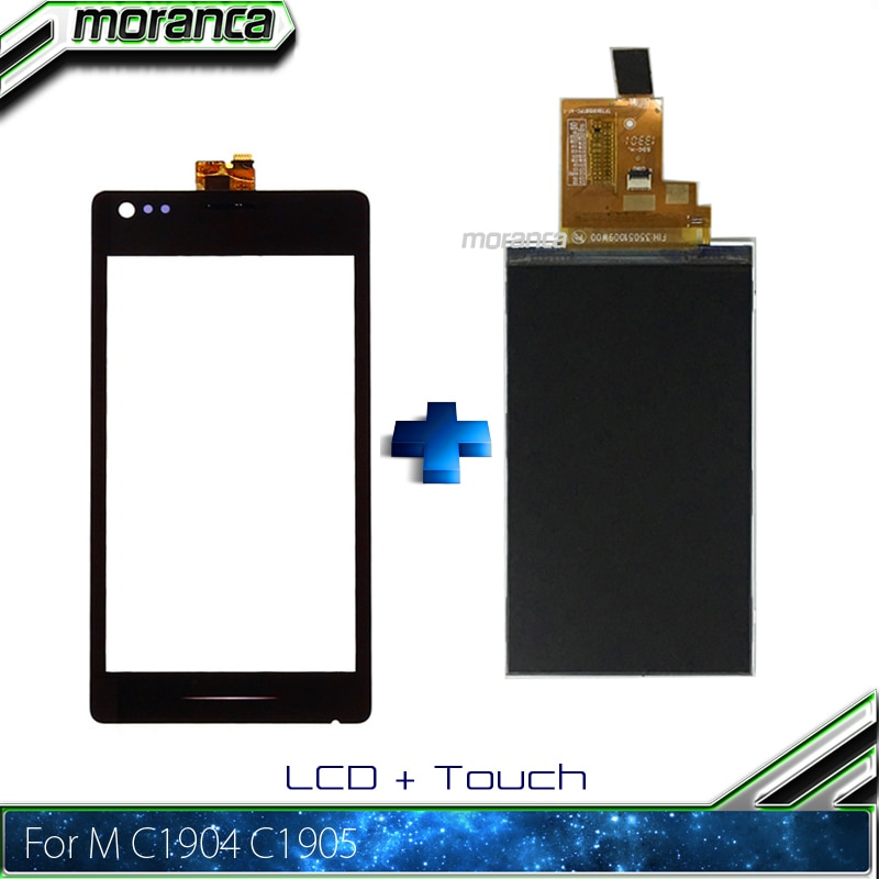 Pantalla LCD de 4,0 M para Sony Xperia M C1904 C1905 C2004 C2005 pantalla LCD + pantalla táctil calidad AAA probada piezas de reparación de montaje