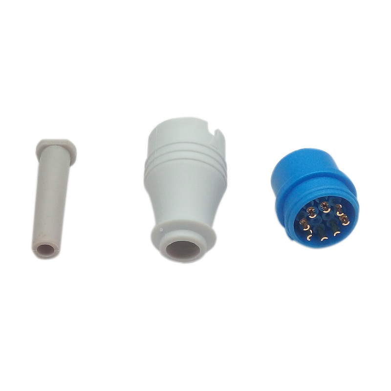 9 Pin SpO2 Connector Assembled Used for Biolight Patient Monitor Blood Oxygen SpO2 Sensor
