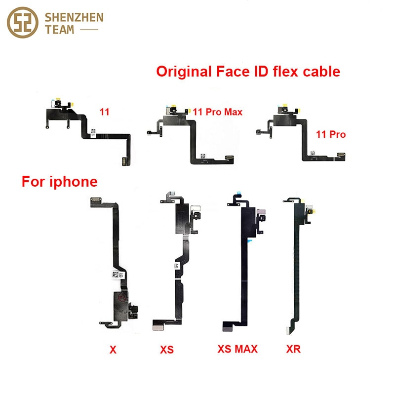 SZteam ORIGINAL earpiece flex cable for iPhone X XS MAX XR 11 11Pro max without earpiece (Note: not for Face ID repairs)