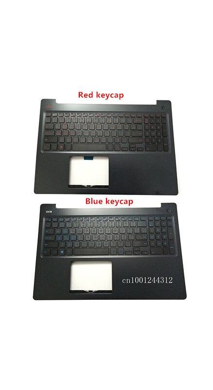95New والأصلي لديل G3 15 3579 الأزرق keycap الولايات المتحدة Palmrest العلوي لوحة المفاتيح الحافة غطاء 0N4HJH