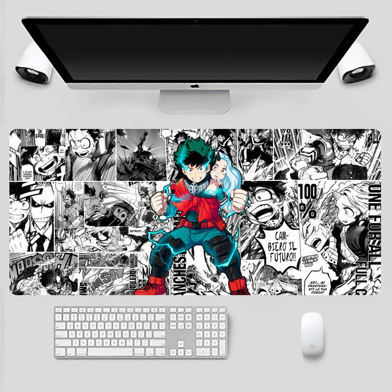 My hero academia Locking Edge Mouse Pad Game Game Office Work Mouse Mat pad X XL Non-slip Laptop Cushion mouse pad