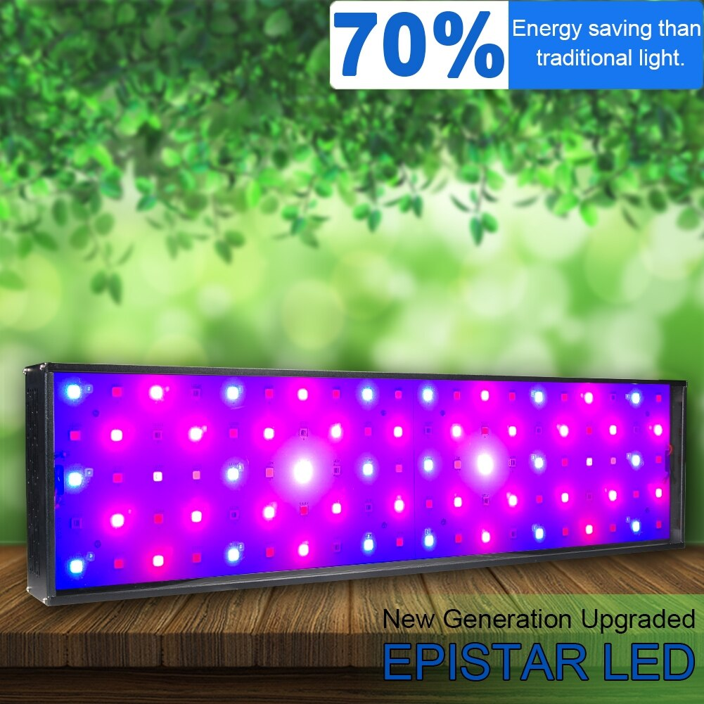 Luz LED de cultivo hidropónica de 4800W, espectro completo para plantas vegetales de interior, luz LED de cultivo