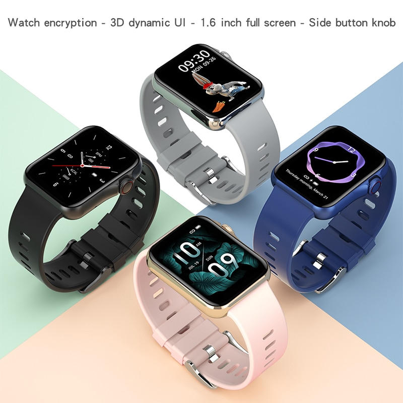 Bluetooth Call D06 Smart Watch Men Watches Women's Wristwatch D06 Smartwatch 2021 Sleep Monitor Smart Bracelet Electronic Clock