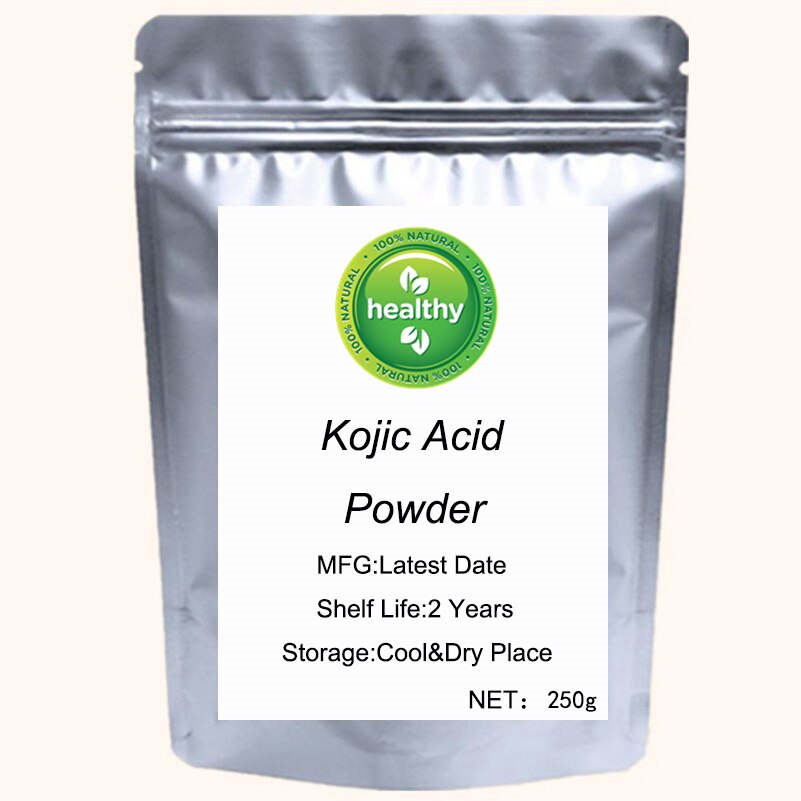 Pure Kojic Acid 99.9% Powder for Skin Whitening and Inhibiting Melanin Kojic Acid Dipalmitate Powder Pure Cosmetic Grade kojic acid and its derivatives